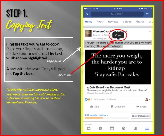Copy and Paste On Facebook