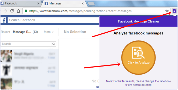 How Can I Delete Facebook Messages At Once | Facebook Delete Messages